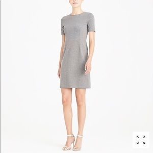 J Crew Mercantile Ponte dress with sleeves